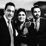 José Eduardo Derbez vive con Omar Fayad y Victoria Ruffo, o por lo menos hasta hace poco