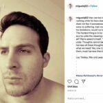 """En su último post en Instagram, publicado el 24 de marzo, Miguel cita un pensamiento del libro """"Guerra y Paz"""", del autor ruso Leo Tolstoy"""