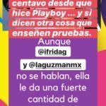 Frida respondió así sobre un post de la revista TVnotas que no recibe un centavo de su madre