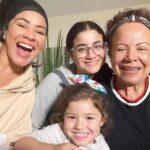 Carolina siempre ha externado su amor incondicional hacia sus hijas y su madre