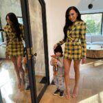 La actriz de ascendencia boricua publicó hace poco esta foto con su hijo de 4 años