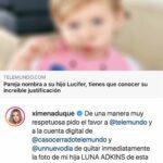 Este es el post con el que la cuenta de Caso Cerrado promocionó la nota y lo que Ximena pidió a Telemundo