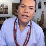 Víctor Florencio, mejor conocido como El Niño Prodigio, le leyó las cartas a la conductora venezolana