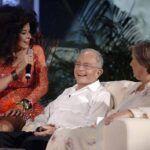 Gloria Trevi estuvo en el homenaje que Televisa le hizo a Raúl Velasco. A pocas horas de que se transmitiera el show, el presentador murió
