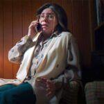 La actriz Verónica Castro tiene 67 años, pero en la cinta fue caracterizada para que se viera mayor