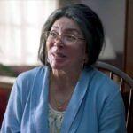 """Verónica interpreta a una ancianita en la cinta """"Dime Cuándo Tú"""", cuya fotografía corre a cargo de su hijo Michel"""