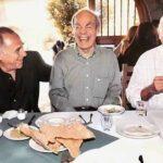 """Con Alejandro Suárez y Héctor Lechuga, con quienes estelarizó la serie de comedia """"Ensalada de Locos"""" en los años 70's"""