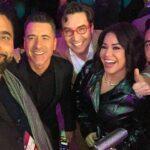 Se refirió incluso de Carlos Mesber (izquierda), el productor que le notificó por teléfono que quedaba fuera del show