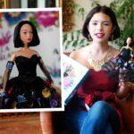 Ángela quiso que la muñeca no fuera una Barbie, sino que tuviera sus rasgos e imperfecciones