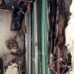 El incendio se originó en la lavandería, por un corto circuito