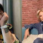 Christian Nodal le dio entrevista a Adela Micha para su programa La Saga