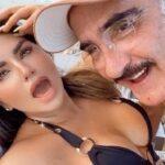 """""""Es un amorsote ese señor"""", dice Mariana de Vicente Jr., quien no se le despegó ni un solo momento en su viaje a Cancún"""