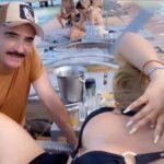 Este fin de semana lo pasaron en Cancún con jóvenes amigos de Mariana y de su familia