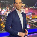 El español ha sido presentador de noticias para el Noticiero Telemundo Las Vegas
