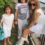 """Dice que su prioridad son sus hijos Eros y Andrea Nicolás, que tuvo con Jerry Bazúa y Nicolás Vallejo-Nájera """"Colate"""", respectivamente"""