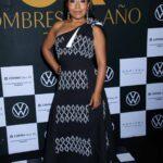 La actriz oaxaqueña asistió a una gala de la edición dedicada a los Hombres del Año de la revista GQ
