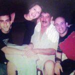 Alicia publicó hace unos meses esta foto diciendo que eran su padre y sus hermanos