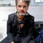 El reportero Carlos Jiménez, quien estuvo presente cuando Eleazar Gómez fue llevado esposado ante las autoridades, publicó esta otra foto del actor