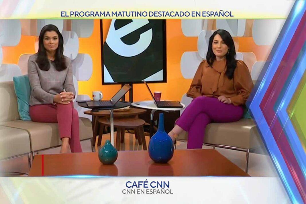 Café CNN, del canal CNN en Español fue reconocido como el mejor show matutino en nuestro idioma