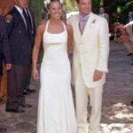 La actriz Kate del Castillo y el entonces futbolista Luis García se casaron el 3 de febrero de 2001