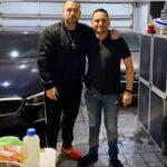 Con notorio sobrepeso, Rafael Amaya reapareció en las redes sociales junto a un amigo