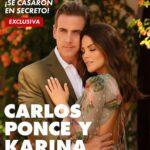 La revista Hola! se llevó la exclusiva del enlace matrimonial del actor y la presentadora de El Gordo y la Flaca