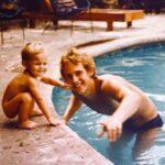 El papá de Michelle, aunque se divorció cuando ella tenía 3 años, siempre estuvo presente en su vida
