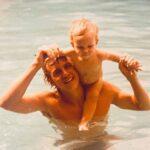 """""""Me llena de orgullo saber cuántos corazones tocaste"""", escribió la actriz junto a esta foto con su padre"""