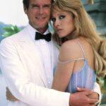 """La actriz interpretó el rol de chica Bond en """"A View to a Kill"""" junto a Roger Moore, en 1985"""