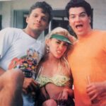 Luis Miguel y su mejor amigo Miguel Alemán Magnani, junto a Yuri, en los 80's